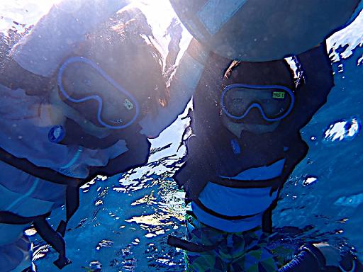 【沖縄・水納島】Dプラン★水納島海水浴 + ボートシュノーケリング♪透明度抜群!!大人気水納島海水浴&シュノーケル☆ランチ付【Dプラン】