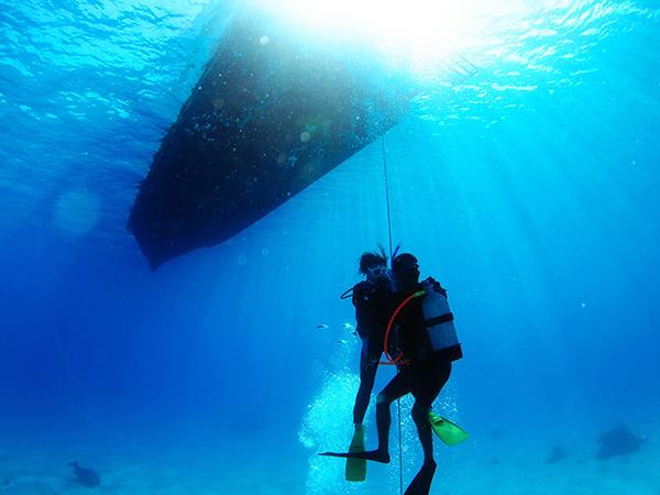【半日体験ダイビング】ライセンス不要!未経験者向け、安心の丁寧な講習つき!<石垣島>【8:30~】半日ボート体験ダイビング