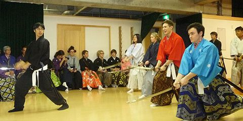 Samurai experience