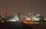 工場夜景スポットバスツアー