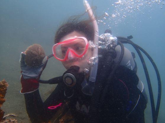 北谷体験ダイビング