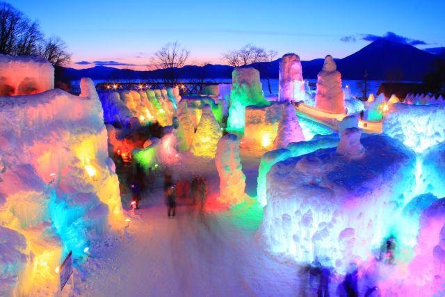 [札幌発]期間限定!冬の旭山動物園と幻想...の写真