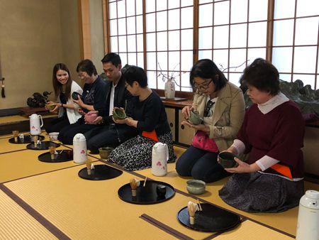 旧瀬戸邸での日本茶・お点前体験
