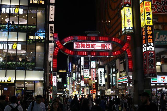 新宿ナイトウォーキングツアーの写真