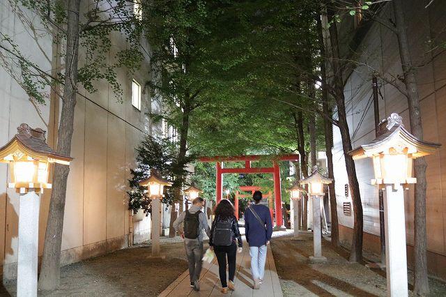 新宿ナイトウォーキングツアー