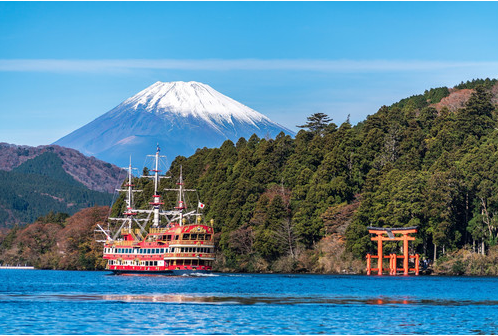 Fantastic Mt. Fuji and Hakone return bus trip