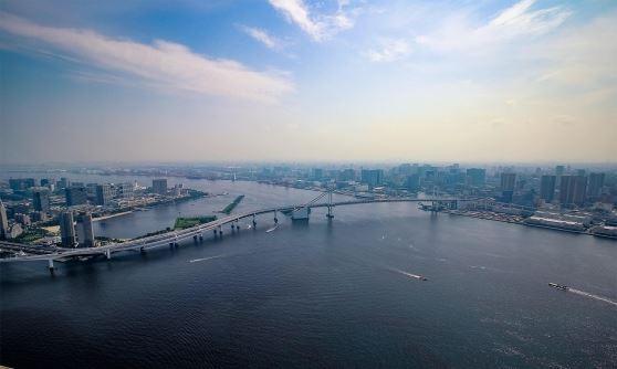 都内一周クルージング~ヘリコプターで空の...の写真
