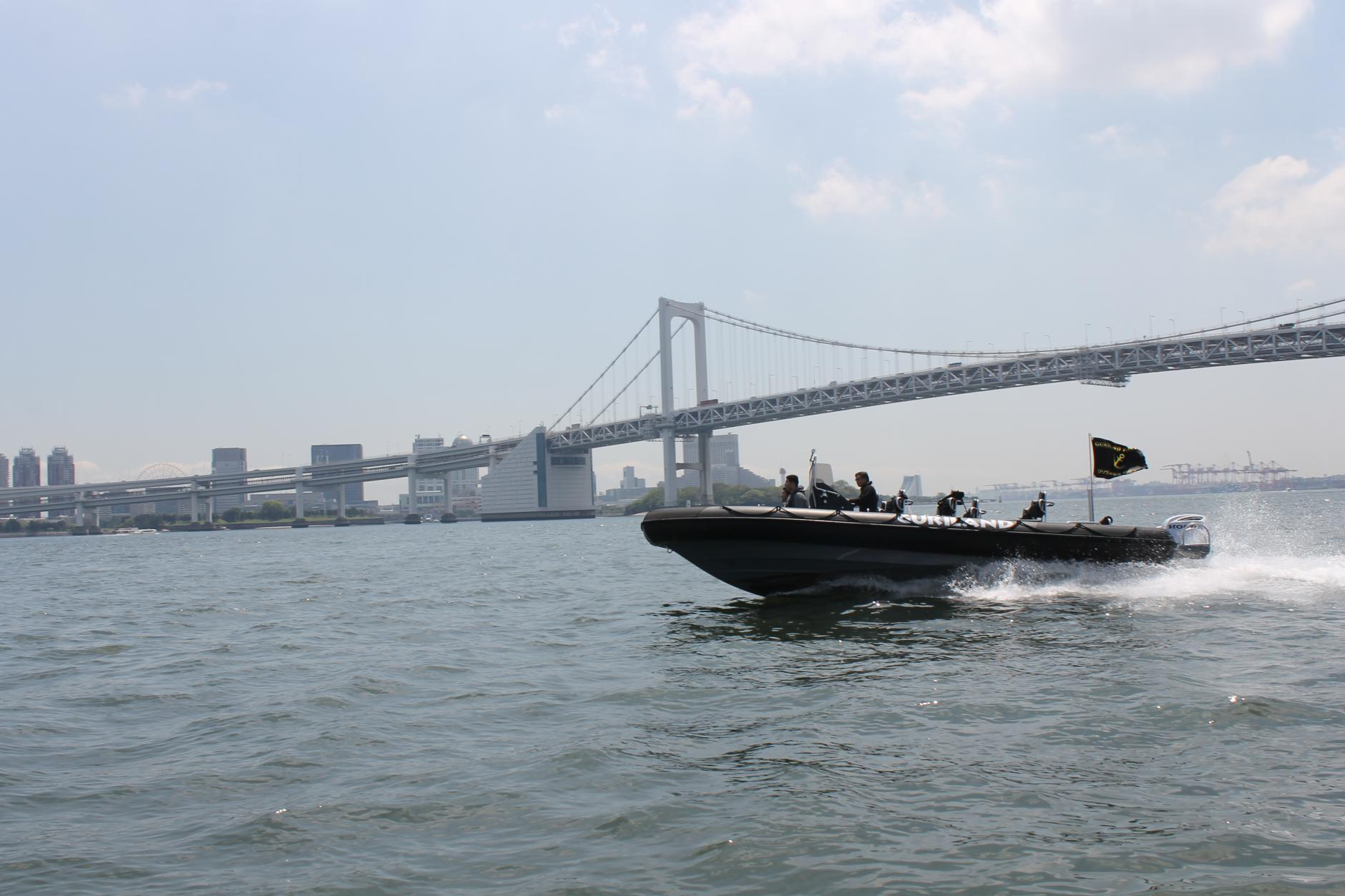 2/11から運行開始!東京湾初のアトラクション型高速クルーズ