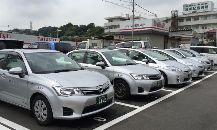 鎌倉を巡る観光タクシー