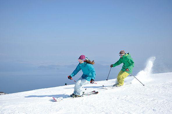 びわ湖バレイ日帰りスキー・雪遊び[スキー...の写真