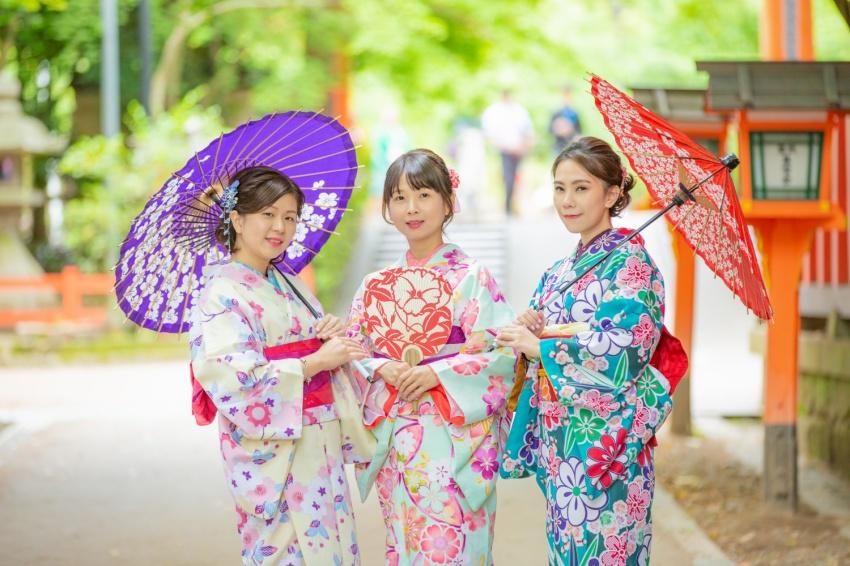 [京都五条発] 京都で着物レンタル散策プ...の写真