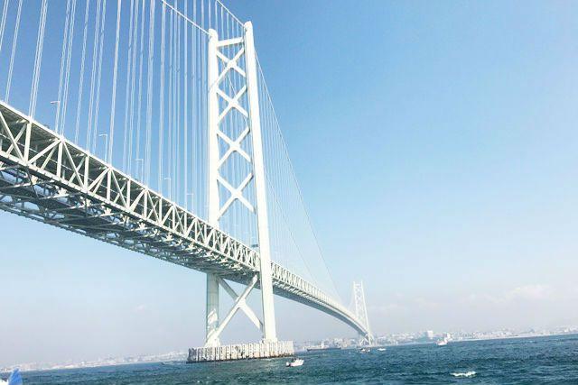 [大阪・堺発] 見ごたえ抜群!明石海峡大...の写真