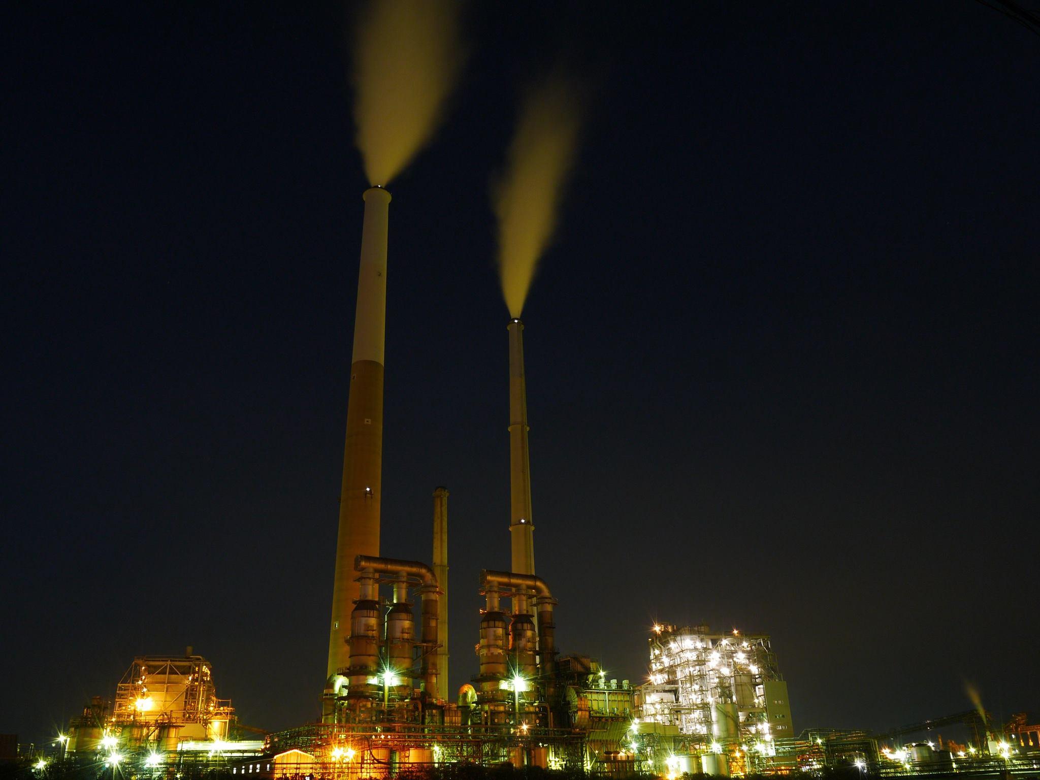 工場夜景タクシープラン