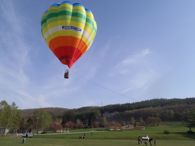 北海道の大自然を満喫☆熱気球体験