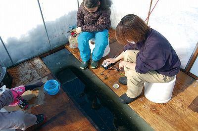 札幌駅前バスターミナル【氷上の釣り体験!わかさぎ釣り体験コース】