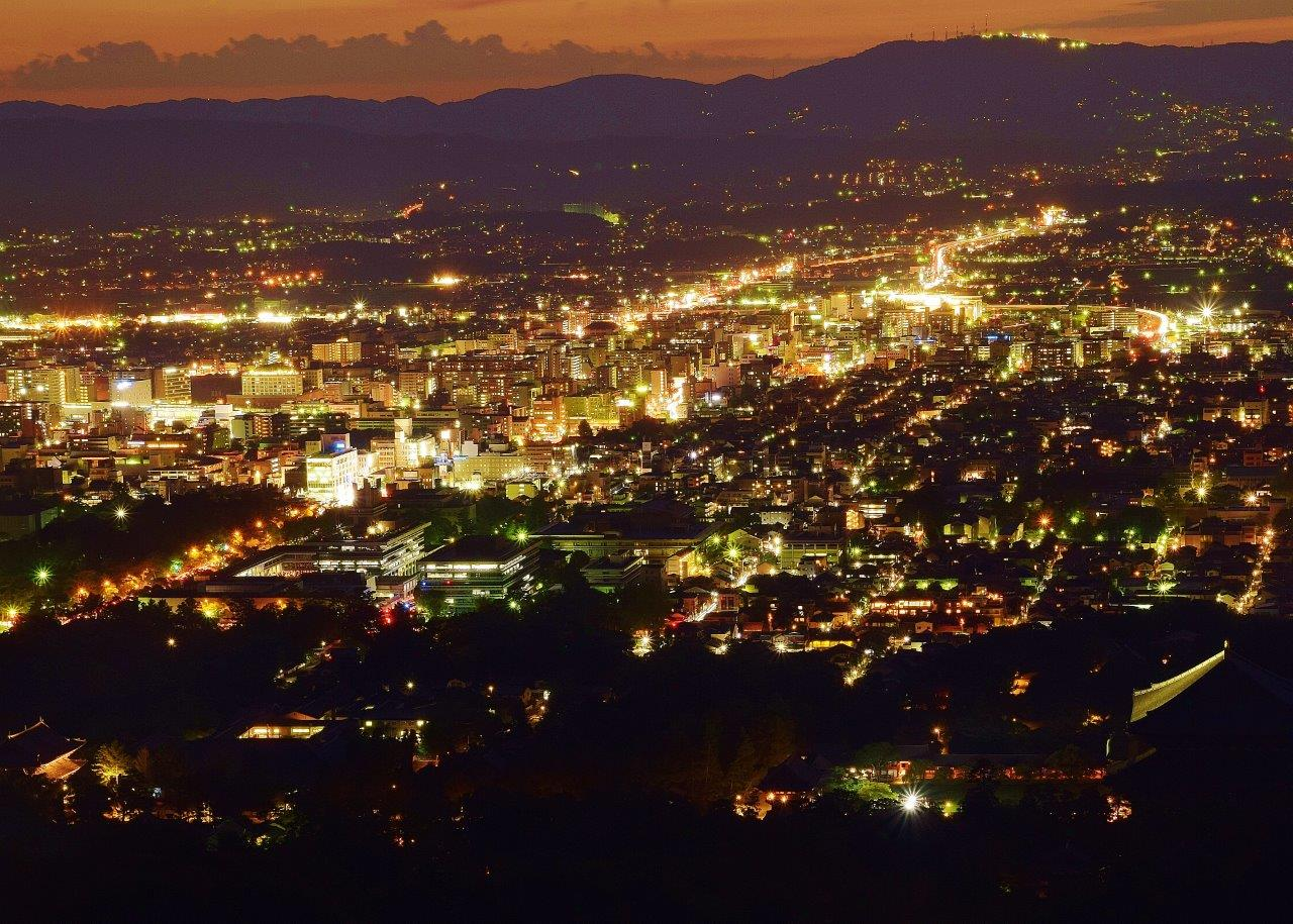 <S1>夜の奈良公園・平城宮跡めぐり