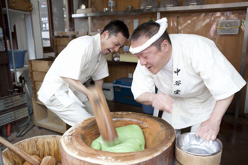 <M>半日で奈良を満喫!高速餅つき見学と柿の葉寿司手作り体験