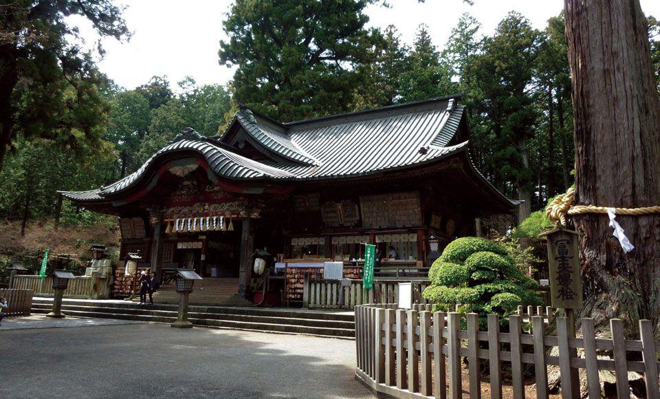 【H502G】富士山麓周遊!開運・金運・縁結びパワースポット4社参り