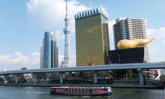 【A106】東京タワーと浅草隅田川下り