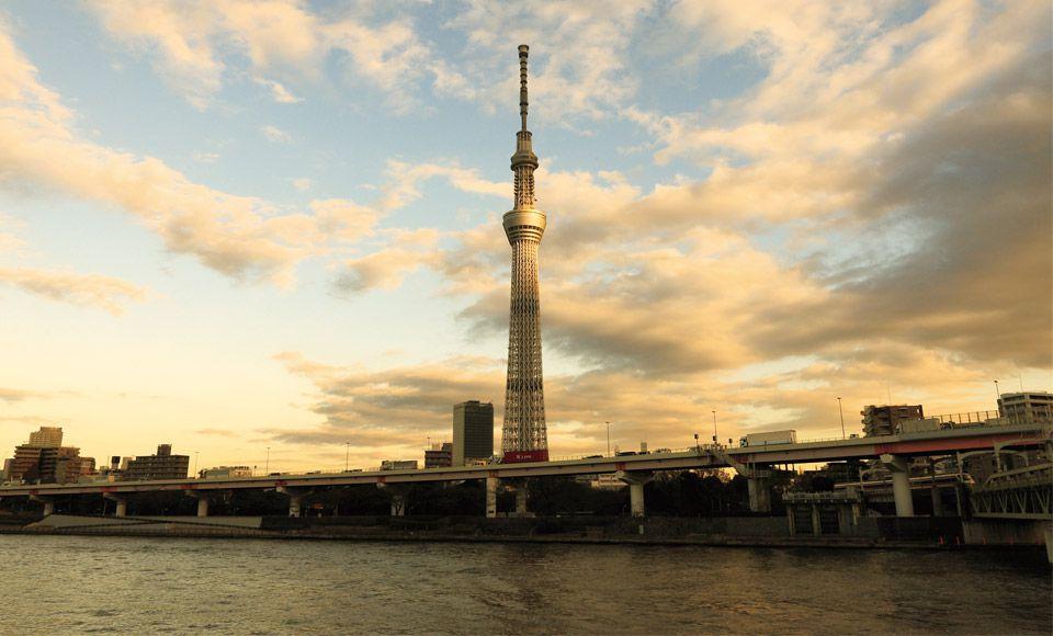 【A614】東京二大タワー競演(東京スカイツリー(R)&東京タワー)
