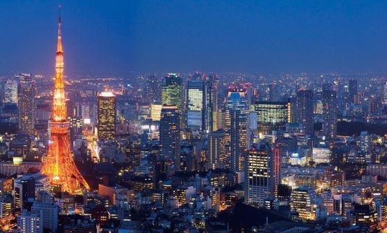 【B252】帝国ホテルバイキングと夜景の東京タワー