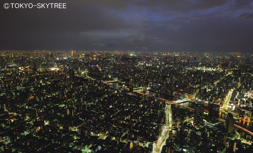 【B685】【2階建てバス】東京スカイツリー(R)夜景ライナー