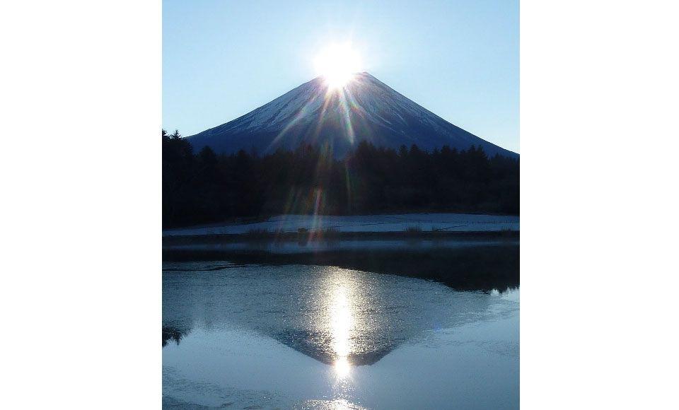 【F244】12/31発限定!富士山麓から仰ぐダイヤモンド富士★2020年一番乗り!夜行日帰り★