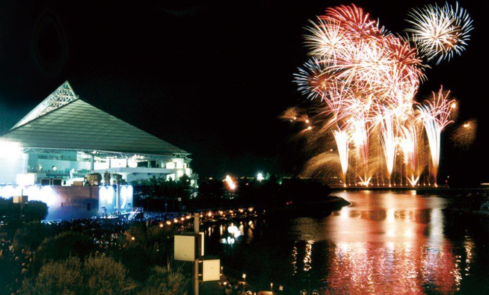 【R286】横浜・八景島シーパラダイスと金沢まつり花火大会