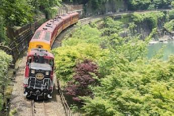 <SK>~明智光秀ゆかりの地・亀岡市へ~トロッコ列車と光秀ゆかりの亀岡の地をめぐる