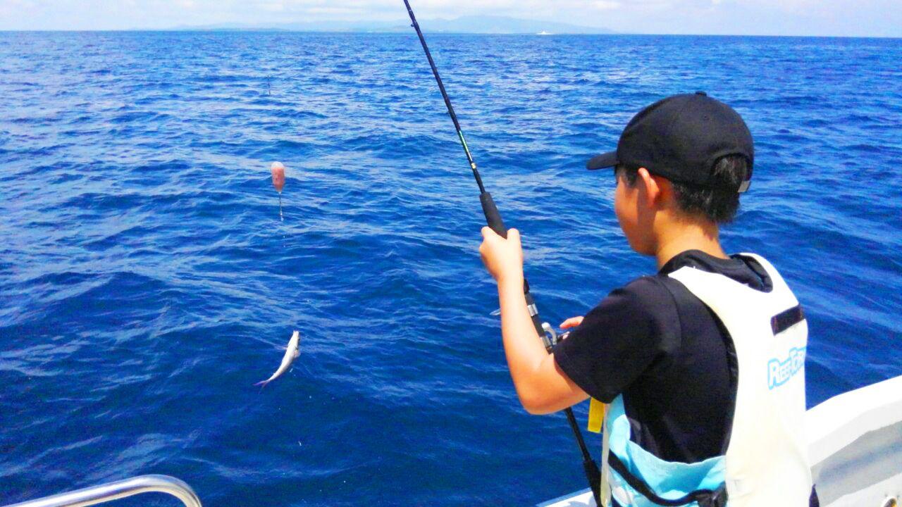 ちょい釣り体験・トロピカルフィッシングツアー