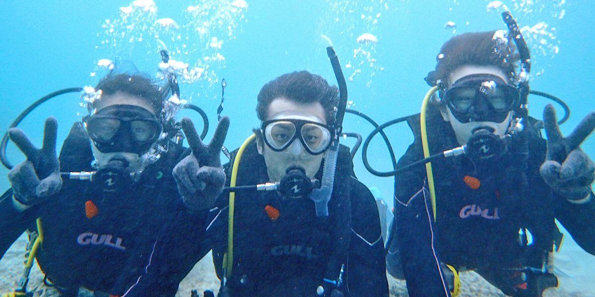 体験ダイビング&幻の島上陸&シュノーケル...の写真