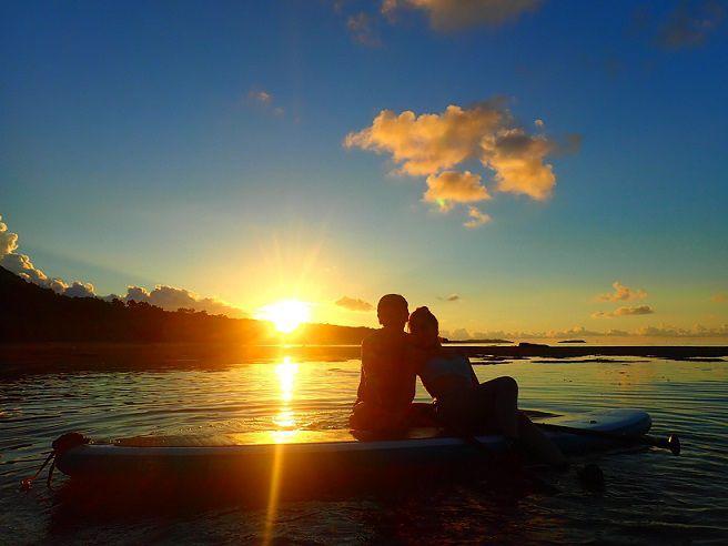 [沖縄・西表島]マングローブと夕日が楽し...の写真