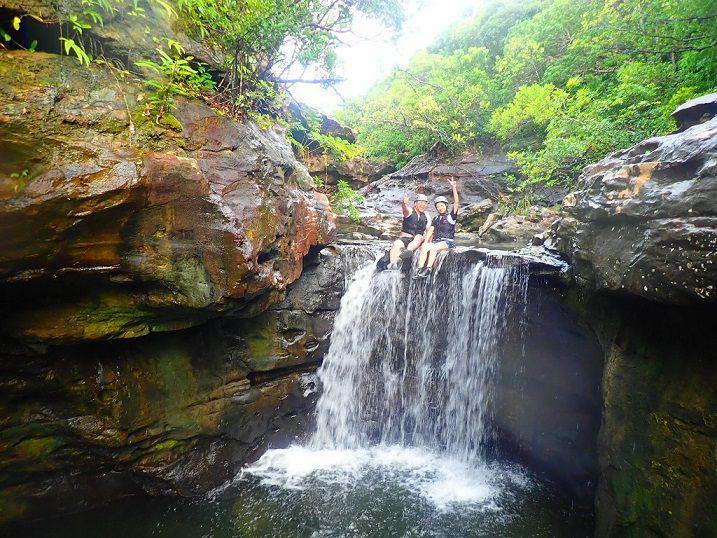 [沖縄・西表島][半日]西表島の渓谷を豪...の写真