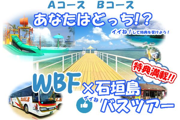 WBF×石垣島 イイね!バスツアー