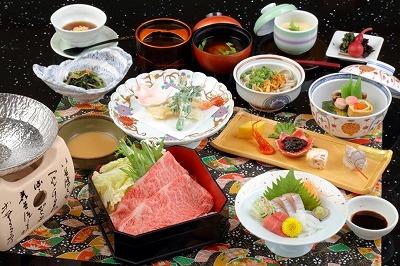 神戸牛しゃぶしゃぶ付「椿会席」イメージ