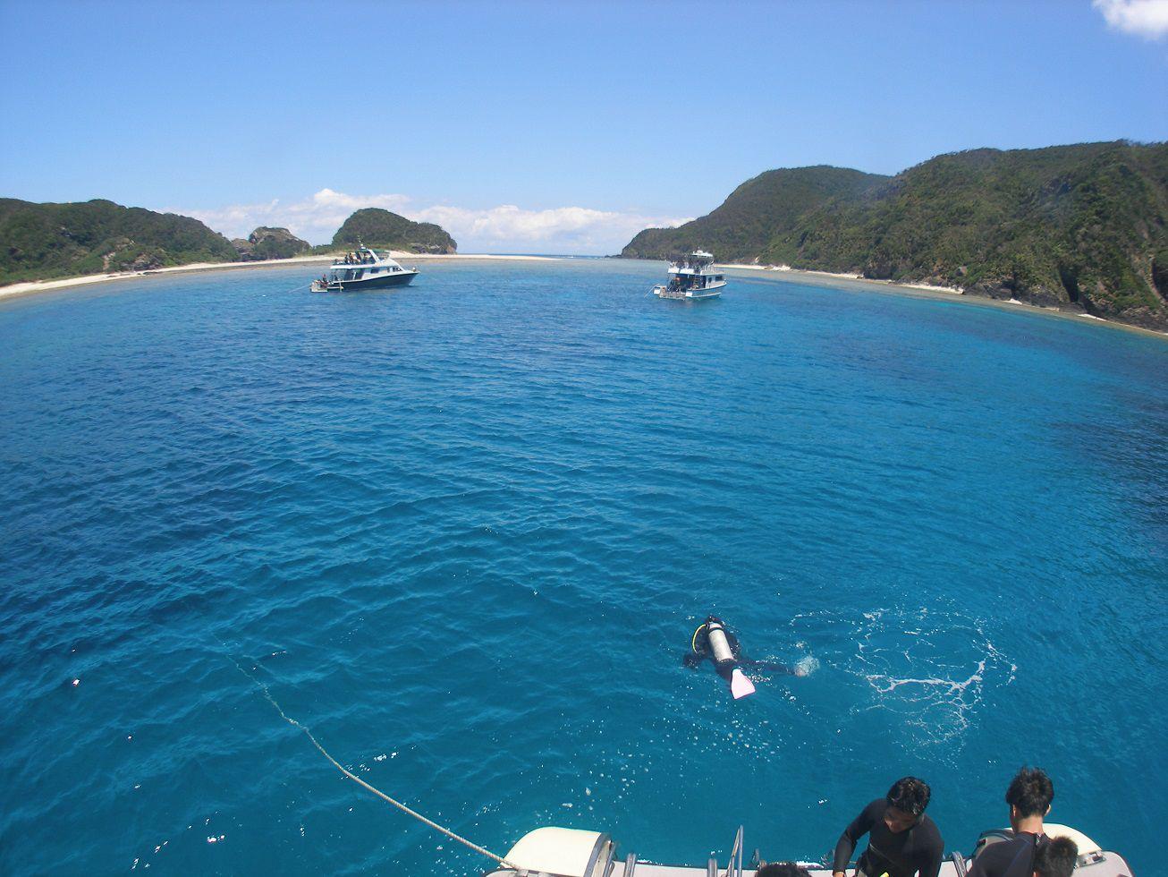 ケラマ諸島ファンダイビング 3ダイブ