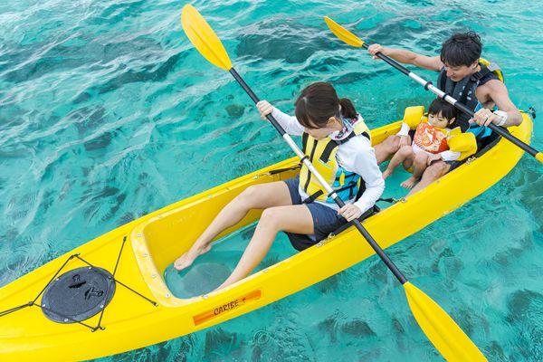 ナビ―ビーチのマリンアクティビティ&海水浴