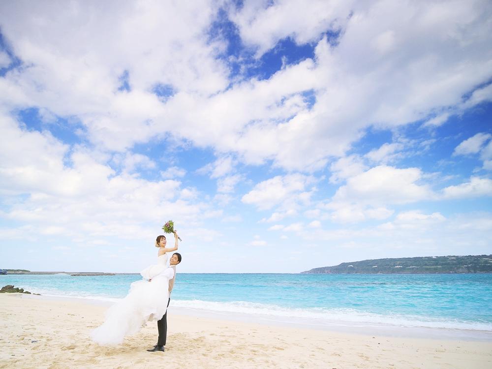 沖縄ビーチ・フォトウェディング
