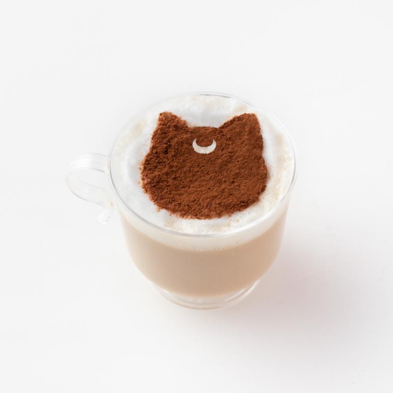 ルナのほっこりカフェラテ