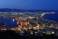 Hakodate night view bus tour