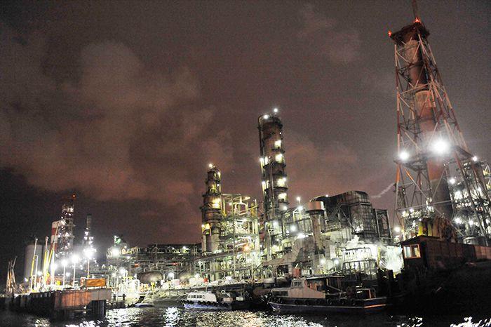 工場夜景を楽しむ新しいクルーズコース