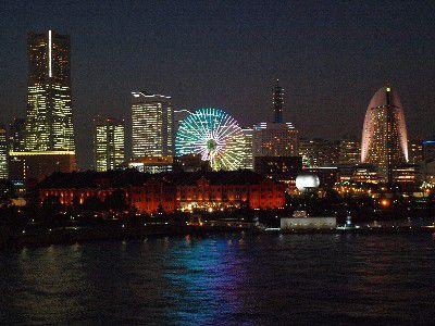 横浜発工場夜景ツアー