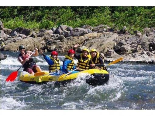 尻別川漂流ラフティング体験★美しい羊蹄山を背景に自然を堪能!